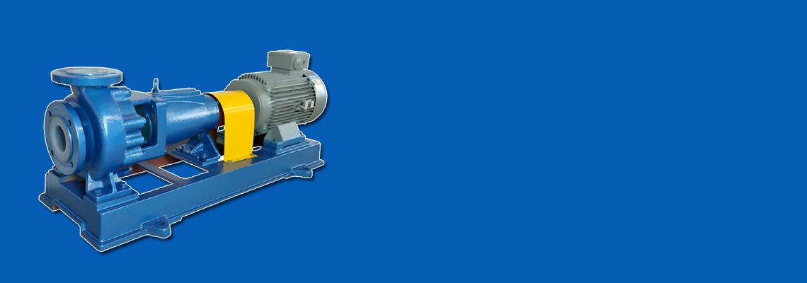 Fluoroplastic Chemical Pump